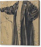 The Waterproof Coat Of General Moltke Acrylic Print