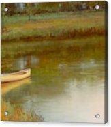 The Water's Edge Acrylic Print by Lori  McNee