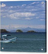 The Waters Of Coiba Acrylic Print