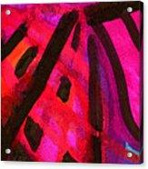 The Way Through The Imbroglio Acrylic Print