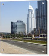 The Way To Dubai Acrylic Print