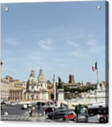 The Way To Piazza Venezia Acrylic Print