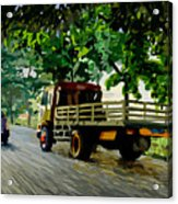 The Way To Tanjung Uma Acrylic Print