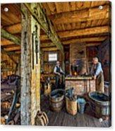 The Way We Were - The Blacksmith 2 Acrylic Print