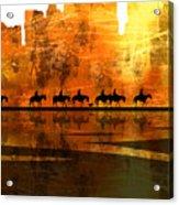 The Weary Journey Acrylic Print