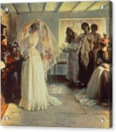 The Wedding Morning Acrylic Print by John Henry Frederick Bacon