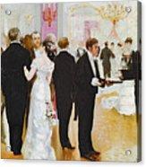 The Wedding Reception Acrylic Print by Jean Beraud