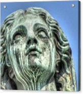 The Weeping Sculpture Acrylic Print