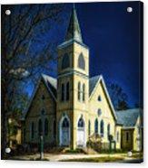 The Wenonah United Methodist Church Acrylic Print