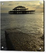 The West Pier Acrylic Print