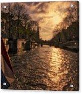 The Westerkerk Amsterdam Acrylic Print