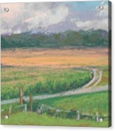 The Wheat Field Acrylic Print