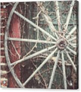 The Wheel And The Ivy Acrylic Print