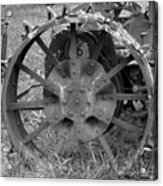 The Wheel Acrylic Print