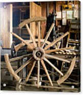 The Wheelwright's Shop Acrylic Print