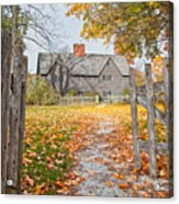 The Whipple House Acrylic Print by Susan Cole Kelly