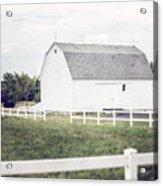 The White Barn Acrylic Print