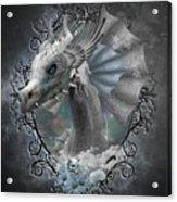 The White Dragon Acrylic Print