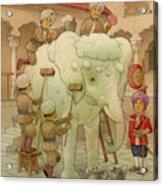The White Elephant 02 Acrylic Print