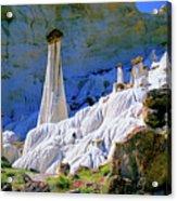 The White Hoodoos Acrylic Print
