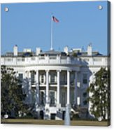 The White House - 1600 Pennsylvania Avenue Washington Dc Acrylic Print by Brendan Reals