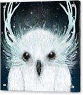 The White Owl Acrylic Print