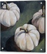 The White Pumpkins Acrylic Print