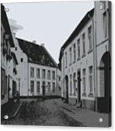 The White Village - Digital Acrylic Print