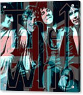 The Who Poster  Acrylic Print