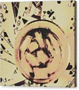 The Wild West Casino  Acrylic Print