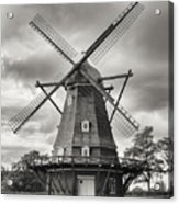 The Windmill At Kastellet Acrylic Print