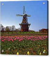 The Windmill Poster Acrylic Print