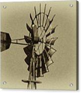 The Windmills Of My Mind Acrylic Print