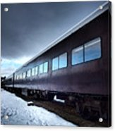 The Windows Of The Train Acrylic Print