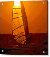 The Windsurfer Acrylic Print