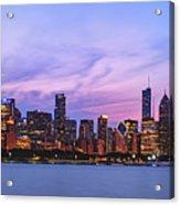 The Windy City Acrylic Print