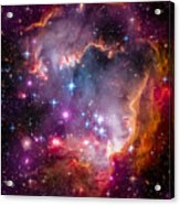 The Wing Of The Small Magellanic Cloud Acrylic Print