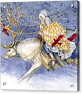 The Winter Changeling Acrylic Print by Janet Chui