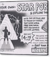 Wizbang Star Portal Acrylic Print