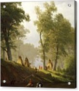 The Wolf River - Kansas Acrylic Print