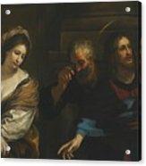 The Woman Taken In Adultery Acrylic Print