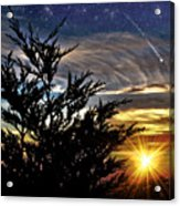 The Wonders Of What Tomorrow Will Bring Acrylic Print