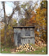 The Wood Shed Acrylic Print