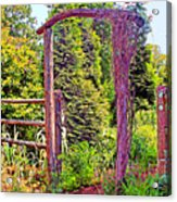 The Wooden Arch Acrylic Print