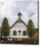 The Woodrow Union Church In Paw Paw West Virginia Acrylic Print