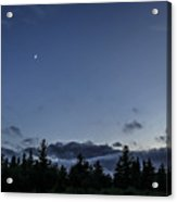 The Woods And The Moon 1 Acrylic Print