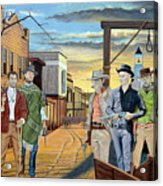 The World Of Classic Westerns Acrylic Print