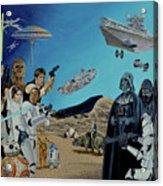 The World Of Star Wars Acrylic Print