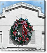 The Wreath Acrylic Print