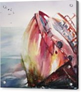 The Wreck Acrylic Print